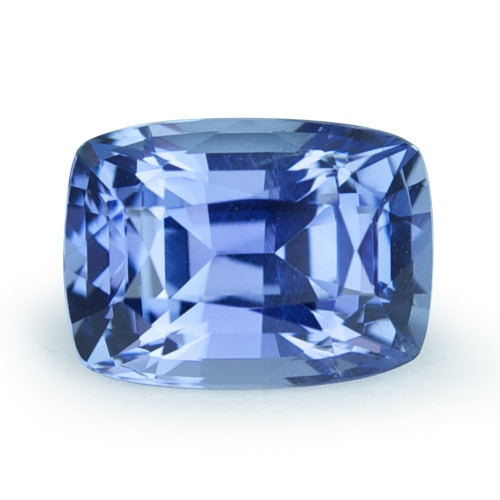 1.91 ct Medium Blue Cushion Cut Natural Unheated Sapphire