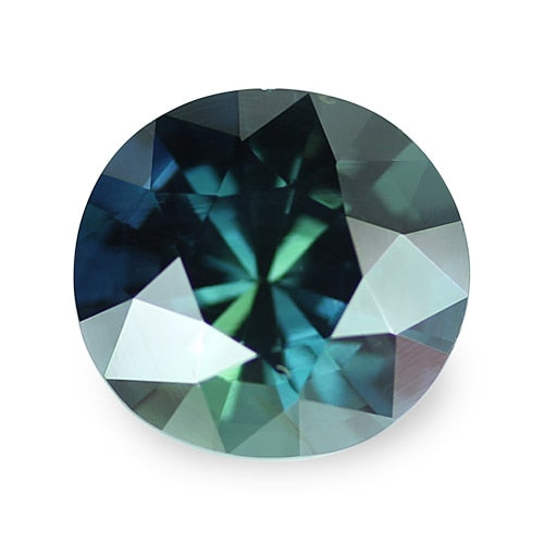 3.44 ct Blue Green Oval Cut Natural Unheated Sapphire