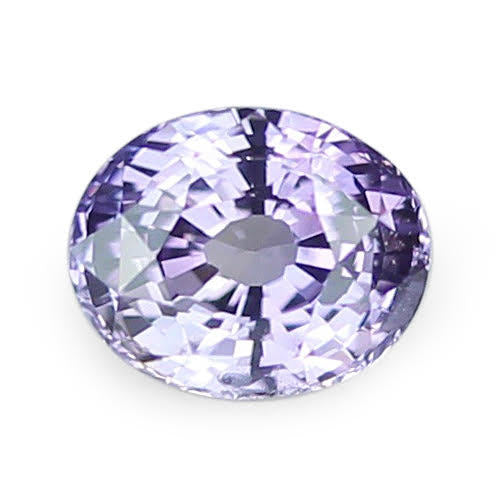 3.02 ct Purple Oval Cut Natural Unheated Sapphire