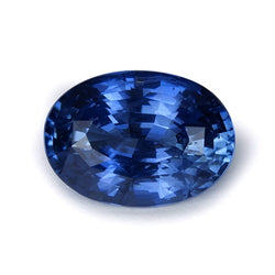 3.92 ct Blue Natural Unheated Sapphire
