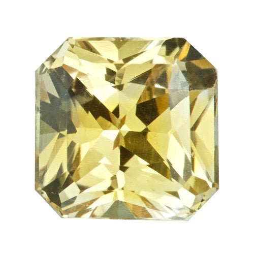 1.55 ct Apricot Natural Ceylon Sapphire Certified Unheated