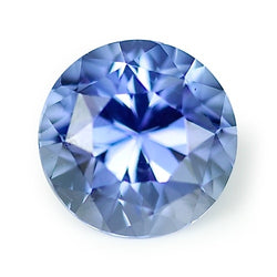 1.79 ct Blue Round Cut Natural Unheated Sapphire