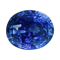 1.93 ct Oval Royal Blue Ceylon	Sapphire Certified Unheated