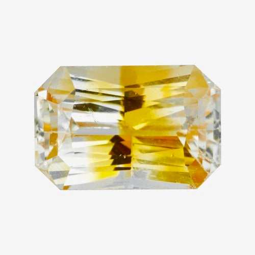 1.87 ct Orange Bi-Colour Ceylon Sapphire Certified Heated