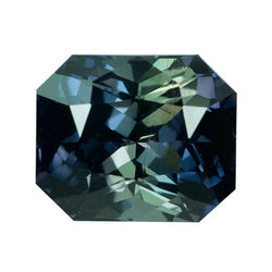 2.04 ct Violet Green Colour Change Natural  Sapphire Unheated