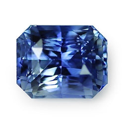 2.61 ct Blue Radiant Cut Natural Unheated Sapphire