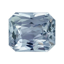 1.99 ct Grey Sapphire Natural Unheated Certified