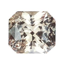 3.53 ct Peach Sapphire Natural Certified Unheated