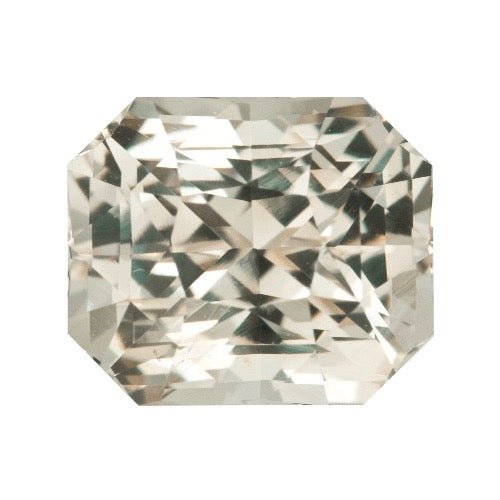 2.72 ct Pastel Champagne Yellow Natural Sapphire Unheated Certified
