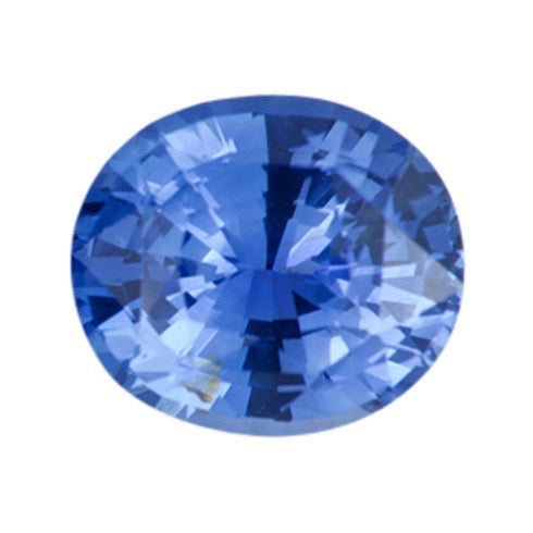 1.51 ct Oval Cornflower Blue Ceylon Natural Sapphire Unheated