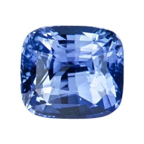 2.02 ct Cornflower Blue Cushion Ceylon Sapphire Certified Unheated