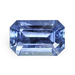 2.43 ct Blue Emerald Cut Natural Unheated Sapphire