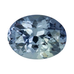2.37 ct Natural Grey Oval Cut Unheated  Sapphire