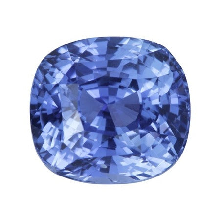 5.07 ct Unheated Vivid Cornflower Blue Sapphire Natural Certified