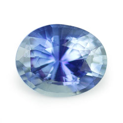 1.11 ct Blue Oval Cut Natural Unheated Sapphire