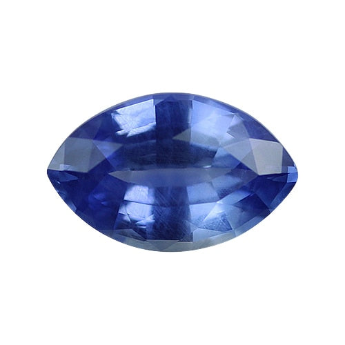 2.08 ct Cornflower Blue Marquise Cut Natural Unheated Sapphire