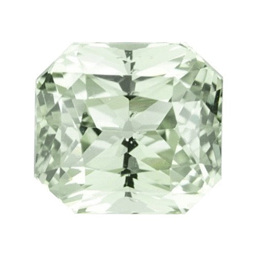 3.03 ct Green Natural  Sapphire Certified Unheated