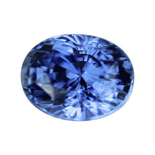 2.02 ct Vivid Medium Blue Certified Oval Sapphire