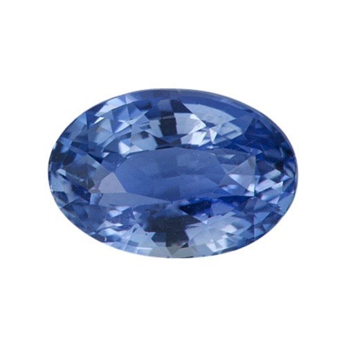2.07 ct Ceylon Oval Blue Natural Sapphire Unheated Certified