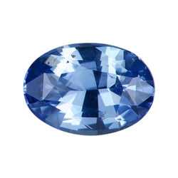1.56 ct Oval Ceylon Blue Unheated Sapphire Natural Certified