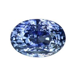2.01 ct Oval Ceylon Medium Blue Natural Sapphire Unheated Certified