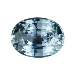 1.49 ct Oval Green Natural Sapphire Unheated Certified