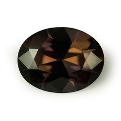 2.49 ct Chocolate Brown Oval Cut Natural Unheated Sapphire
