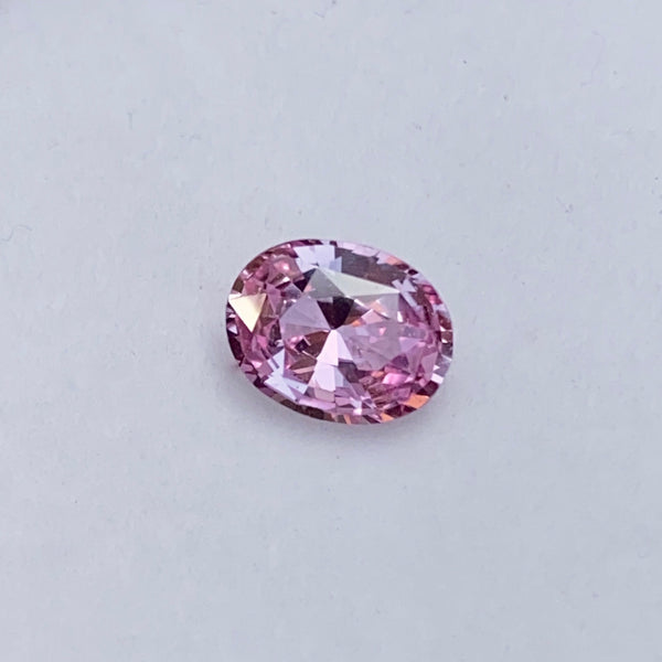1.53 ct Oval  Pink  Sapphire Certified Unheated
