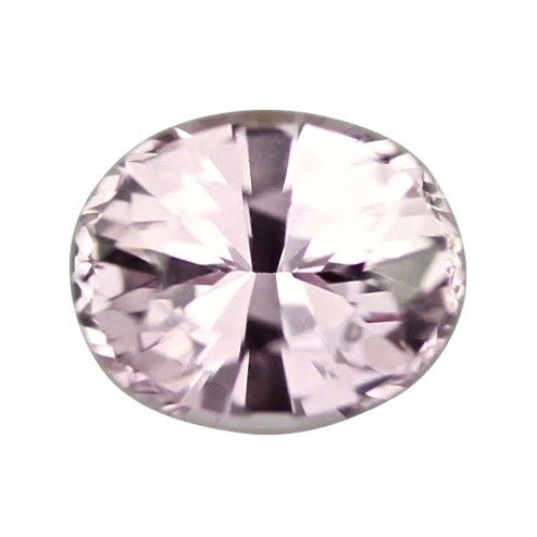 1.44 ct  7.23 x 5.96 x 4.29mm Light Pink Oval Cut Natural Unheated Sapphire