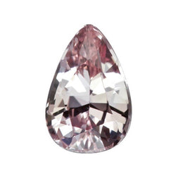 1.60 ct Pear Light Pink Sapphire Unheated Certified