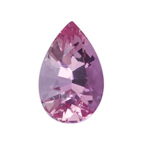 1.38 ct Pear Pink Natural Sapphire Unheated Certified