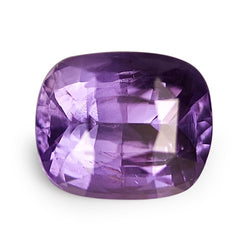 2.06 ct Purple Cushion Cut Natural Unheated Sapphire