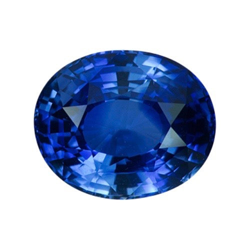 2.36 ct Royal Blue Oval Ceylon Sapphire Certified Unheated