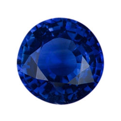 1.24 ct Royal Blue Round Sapphire Heated
