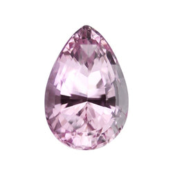 1.55 ct Pastel Pink Pear Cut Natural Unheated Sapphire