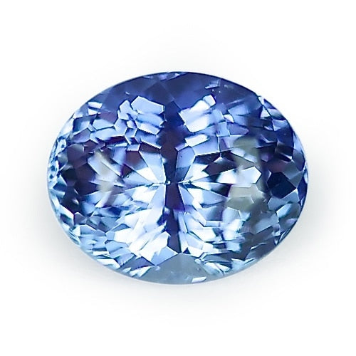 2.18 ct Blue Oval Cut Natural Unheated Sapphire