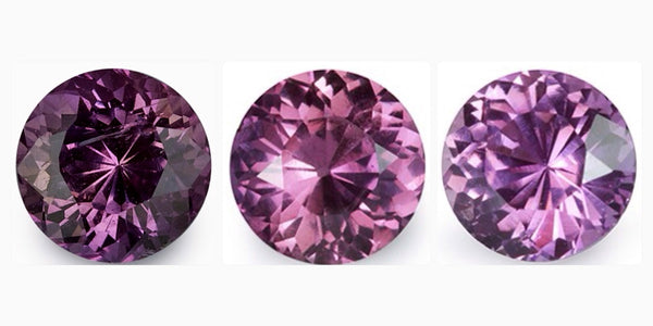 2.21 ct Pink Round Cut Natural Unheated Sapphire Pair