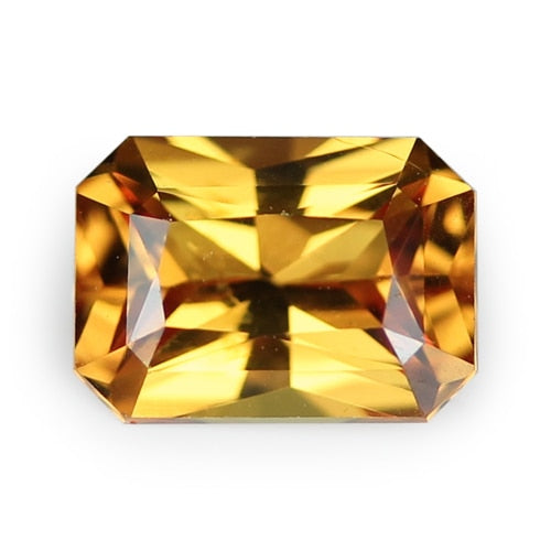 1.66 ct Orange Natural Unheated Sapphire