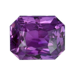 1.61 ct Vivid Purple Violet Natural Sapphire Unheated Certified