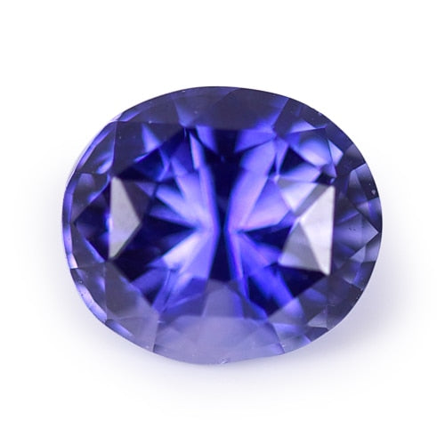 1.44 ct Blue Oval Cut Natural Unheated Sapphire