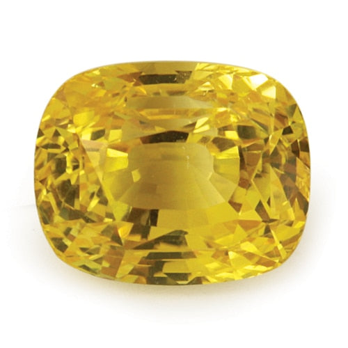 4.11 ct Yellow Natural Unheated Sapphire