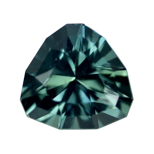 3.05 ct Blue Green Sapphire Certified Unheated