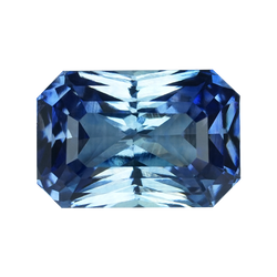 2.64 ct Blue Sapphire Radiant Cut Unheated Ceylon