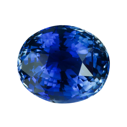 1.54 ct Oval Cornflower Blue Sapphire Natural Unheated