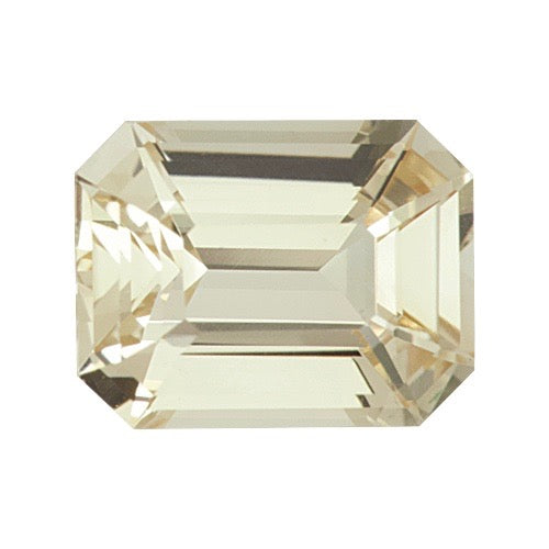 1.68 ct Emerald Cut Champagne Sapphire Natural Unheated