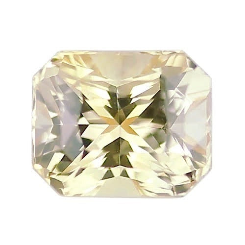 2.71 ct Champagne Yellow Natural Unheated Sapphire
