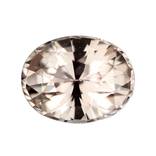 2.04 ct Champagne Peach Oval Sapphire Certified Unheated