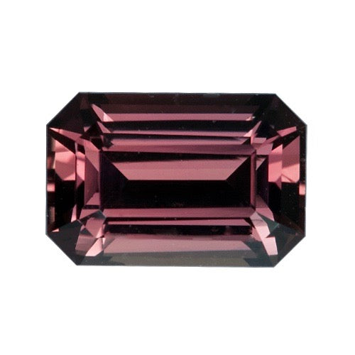 1.99 ct Cognac Brown Sapphire Emerald Cut Unheated Certified