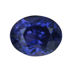 1.23 ct Deep Blue Violet Colour Change Oval Cut Natural Unheated Sapphire