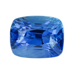 2.03 ct Cushion Cornflower Blue Sapphire Certified Heated